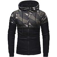 Geili Herren Jacke Mantel Sweatjacke Kapuzenjacke Oversized Camouflage Hoodie Langarm Reißverschluss Sweatshirtjacke... preisvergleich bei billige-tabletten.eu