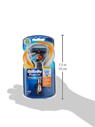 Gillette Fusion Proglide Flexball Rasoio da Uomo – 1 Manico + 1 Lametta - 9