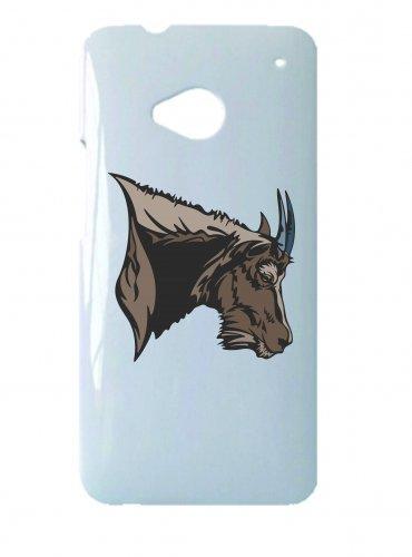 Smartphone Case Antilope con corna testa Wilderness giungla per Apple Iphone 4/4S, 5/5S, 5C, 6/6S, 7& Samsung Galaxy S4, S5, S6, S6Edge, S7, S7Edge Huawei HTC-Divertimento Motiv