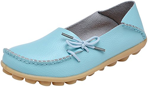 FangstoLoafer Flats - A collo basso donna Sty-1 Baby Blue