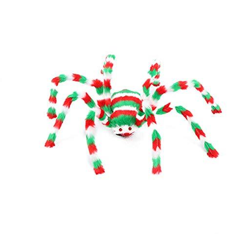 TLZR Halloween Spinne Spielzeug, Spukhaus Prop Party Dekoration Indoor Outdoor Breite Spielzeug Für Mädchen Jungen (50 cm) 75CM