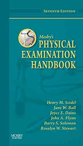 [(Mosby's Physical Examination Handbook)] [By (author) Henry M. Seidel ] published on (March, 2010)