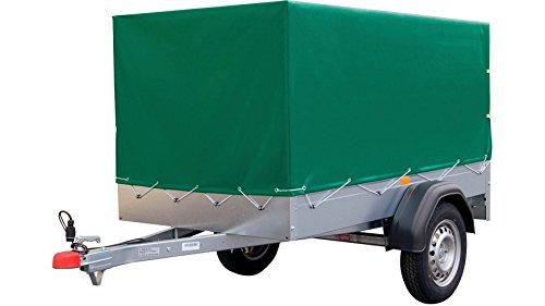Preisvergleich Produktbild STEMA Set: PKW-Anhänger mit Plane AN 750 Silber