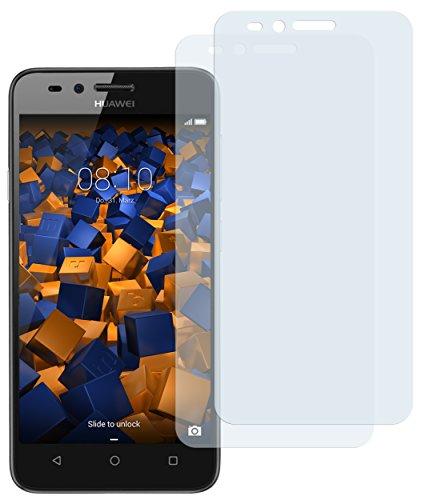 mumbi Schutzfolie kompatibel mit Huawei Y3 II Folie klar, Bildschirmschutzfolie (2X)