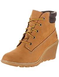 Timberland EK Amston 6 Inch Wheat Womens Boots Size 7.5 UK