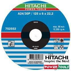 hitachi-752552-disque-a-tronconner-125-x-6-x-222-mm-metal-vente-x25-ud