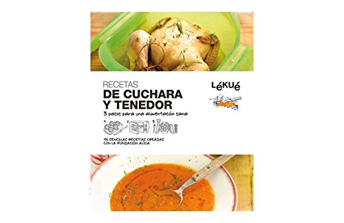 Lékué Libro de cocina De Cuchara y Tenedor
