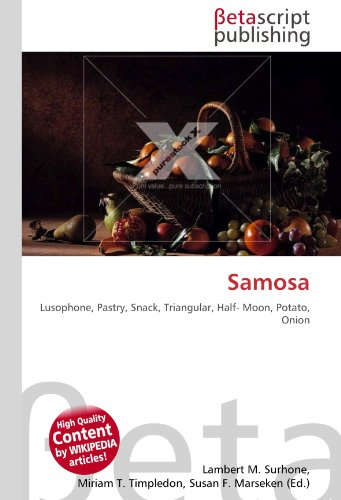 Samosa: Lusophone, Pastry, Snack, Triangular, Half- Moon, Potato, Onion