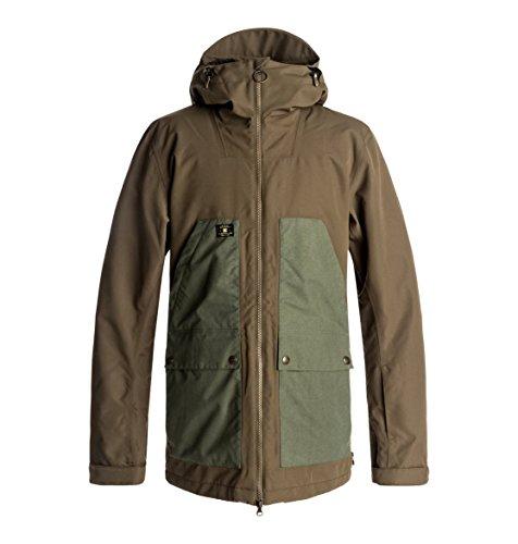 DC Shoes Summit - Snow Jacket for Men - Snow Jacke - Männer - XS - Schwarz