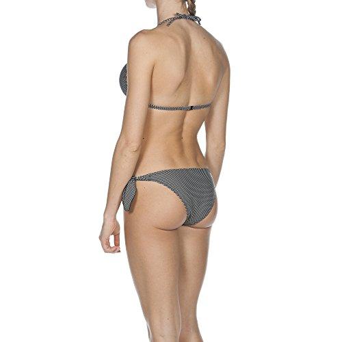 Arena Damen Triangle Bikini Polkadots Black