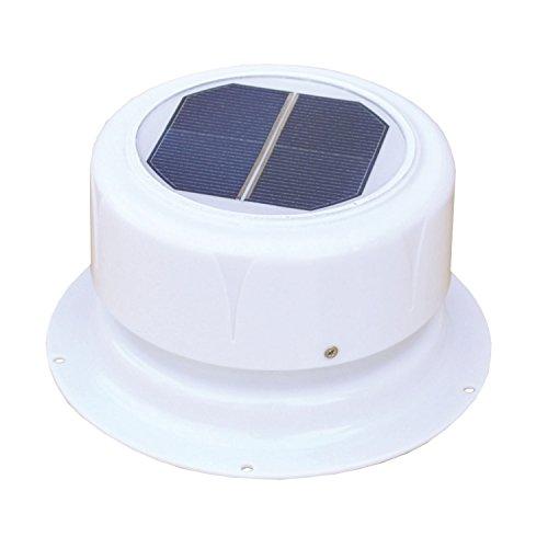 Sanitär-vent (Ultra-Fab 53-945001Mini Solar weiß Sanitär Vent)