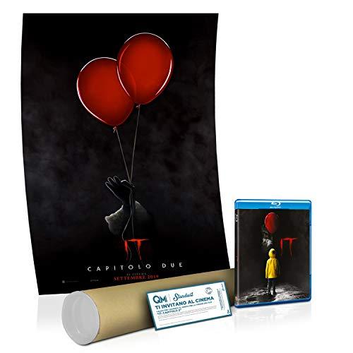 IT Blu ray e Poster IT 2 e Biglietto Cinema IT 2