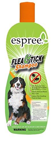 Espree pulgas y garrapatas Champú para Mascotas