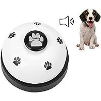 Campana de entrenamiento para mascotas, campanas para cachorros de perro, campana de escritorio para entrenamiento de orinal y dispositivos de comunicación, cena, comida, puerta, timbre