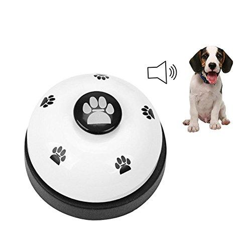 GFEU Dome Fußabdrücke Pet Hunde-Klingeln Glocken für Töpfchen und-Gerät -