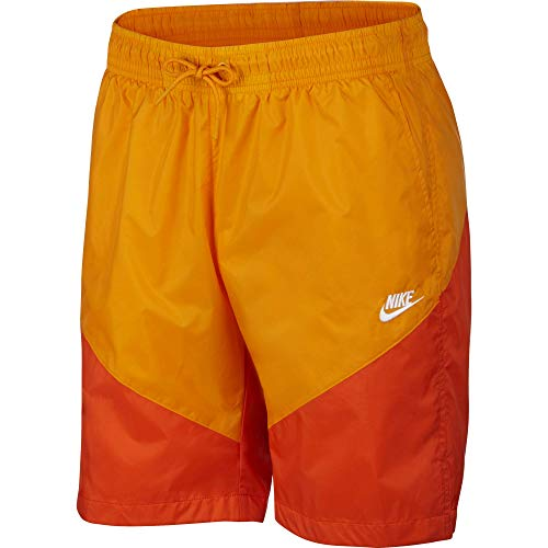 Nike Herren He Short Windrunner Track Peel/Team orange/White, XL -