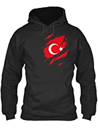 07baf533d2f5b Sweat à Capuche pour Homme et Femme L Turkey in my Heart - Limited Edition