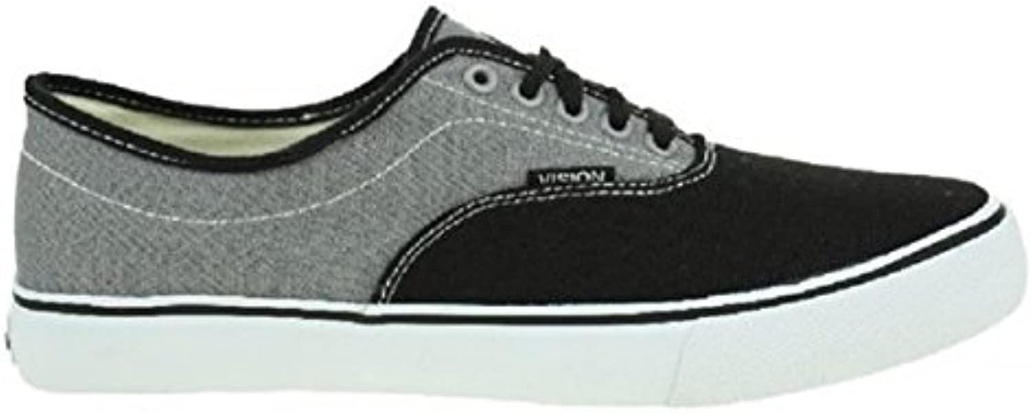 Vision Street Wear Skateboard Schuhe Sciera13 Black/Grey   Sneakers Sneaker