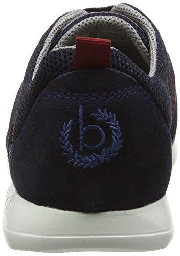 Bugatti K196136, Sneakers Basses homme Bleu (dunkelblau 425)