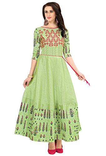 LOVELY GREEN COLOUR IN SILK WITH WORK OF HEAVY MULTI ZARI WITH...