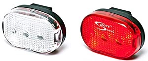 Sport Direct Mega Bright Twin LED Bike Lights