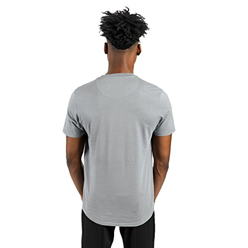 Ellesse Uomo Pescara Logo T-shirt, Grigio Grigio