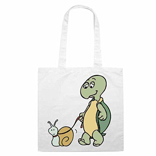 e Motiv Nr. 12873 Schildkröte und Schnecke Cartoon Spass Fun Kult Film Serie Cartoon Spass Fun Kult F ()