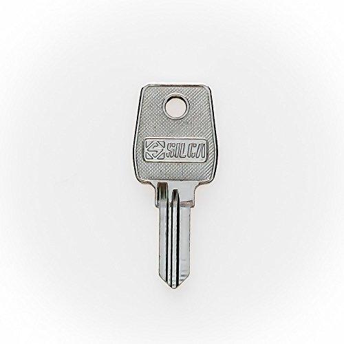 RENZ Ersatzschlüssel EL - Schließung EL 001 bis EL 500 - Nachschlüssel - Zusatzschlüssel - für RENZ Briefkästen und Briefkastenanlagen - Briefkastenschlüssel - nachträglicher Schlüssel für RENZ Briefkästen