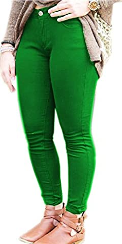Ladies Womens Skinny PLUS SIZE Stretchy Fitted Jeggings Jeans JADE