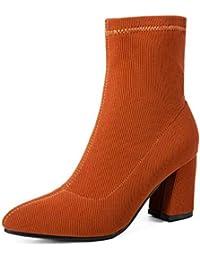 db71ea08bdcad9 CN Stiefel Für Frauen Einfache Plus Samt Warme Art Und Weise Elastische  Schlauchboots