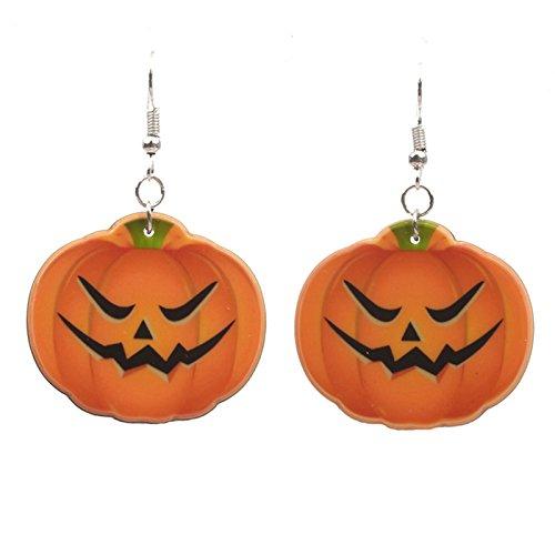 Daesar Halloween Schmuck Party Legierung Wütend Kürbis (Kostüm Stecken Halloween Sie)