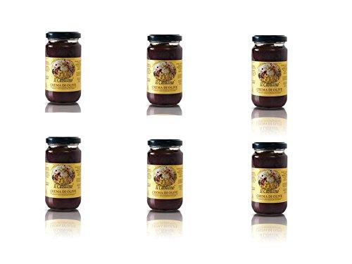 IL CAVALLINO - Crema di Olive - 6 vasetti da 180gr