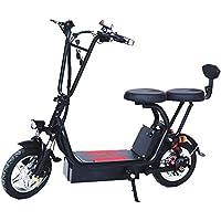 Bicicleta Eléctrica Plegable para Adultos De 12 Pulgadas, Bicicleta De Montaña con Batería De Litio