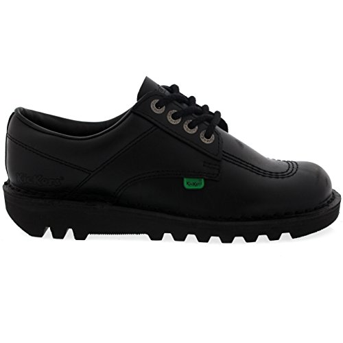 Unisex Kids Youth Kickers Kick Lo Back To School Low Leather Boots Shoes UK 3-6