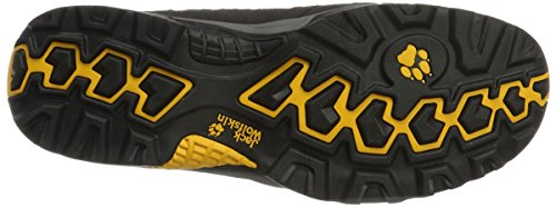 Jack Wolfskin Vojo Hike - Chaussures de randonnée Homme - Mid, Texapore gris 2015 chaussures de mont Gris (Burly Yellow)