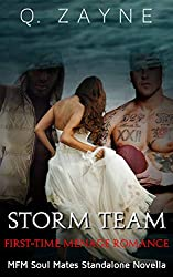 Storm Team: First-Time Menage (Soul Mates Standalone Novella Book 0)