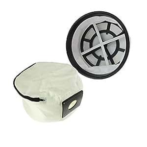 SUDS-ONLINE wiederverwendbar Tuch Zip Hoover Staubbeutel