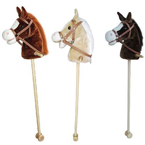 AK Sport GD500 C1 E Blonde - Hobby Horse mit Sound (Stick Mit Sound Pferd)