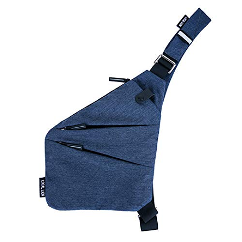 OFZYG Shopping Trip Digital Storage Supplies Outdoor-Sporttasche Ultradünne tragbare unsichtbare Diebstahlsicherung Schulter tragbare Brusttasche