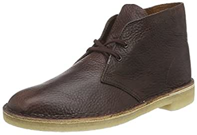 Creative Amazon.com Clarks Womenu0026#39;s Desert Wing Women Desert Boot Wing TipBeeswax Leather11 M US Shoes