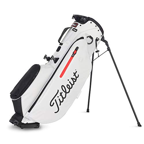 Titleist Bolsa Palos Golf. Players 4. Color Negro/Rojo