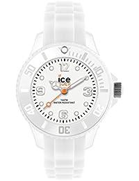 Ice-Watch - ICE forever White - Weiße Herrenuhr mit Silikonarmband - 000134 (Medium)