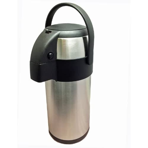 41RrA3iR3kL. SS500  - New 3.0 litre stainless steel pump action airpot/flask - Ideal for keeping fluids hot for many hours. by Nextday…