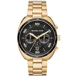 Michael Kors Reloj Cronógrafo para Hombre de Cuarzo con Correa en Acero Inoxidable MK8614