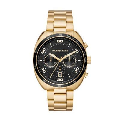 Michael Kors Mens Chronograph Quartz Watch with Stainless Steel Strap MK8614