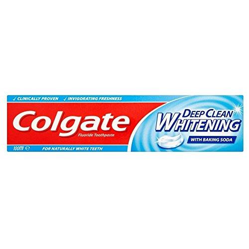 Colgate Sensation Deep Clean Whitening Zahnpasta-Schlauch (100 ml) - Packung mit 2 (Zahnpasta Colgate Whitening)