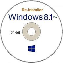 WINDOWS 8.1 Professional 64 - Bit Compatible Versions Re-install Windows Factory Fresh! Recover, Repair, Re Install - Restore Boot Disc ~ Fix PC - Laptop - Desktop ~ AIO DVD/ROM