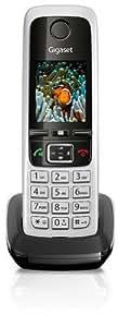 Gigaset C430H Telefon / Schnurlostelefon / Mobilteil - TFT - Farbdisplay / Dect - Telefon - ohne Anrufbeantworter / Freisprechfunktion - Analog Telefon - Schwarz
