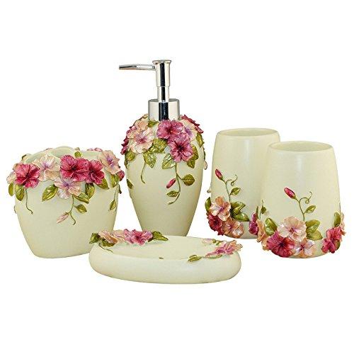 MIAORUI salle de bains tapette / cinq toilettes des articles de toilette.