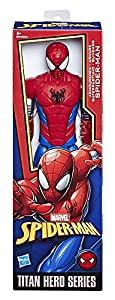 Marvel Spiderman- Spiderman Figura Titan Power 30 cm, Modelo Surtido, 1 Unidad Hero Series, Multicolor (Hasbro E2324EU4)
